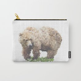 Penrose Tiling Bear Carry-All Pouch