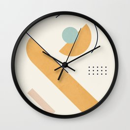 Clean Flow Geometry 7 Wall Clock