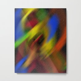 universe lighting Metal Print