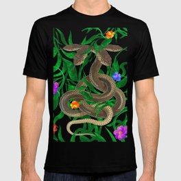 Snakes  illustration T-shirt