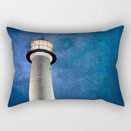 Lighthouse Blues Rectangular Pillow