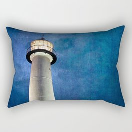 Lighthouse Blues Rectangular Pillow