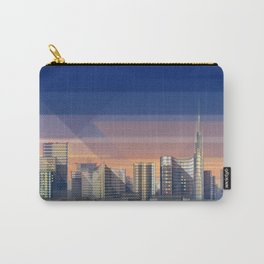 Futuristic Milan Skyline Carry-All Pouch
