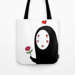 Kaonashi : Be My Valentine Tote Bag