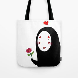 Kaonashi : Be My Valentine Tote Bag
