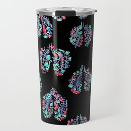 Breathing in the Cold Travel Mug