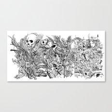Doodles Canvas Print