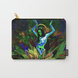 St. Mary of the Lotus (Sta. María de el loto) Carry-All Pouch