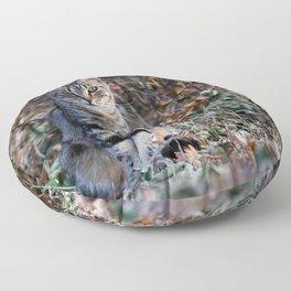 The half cat Floor Pillow