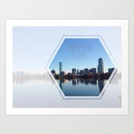 Boston Love Art Print