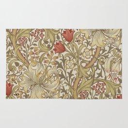William Morris Golden Lily John Henry Dearle Rug