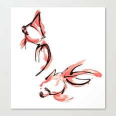 2 Goldfish Canvas Print