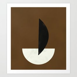 Geometric Abstract Art #5 Art Print