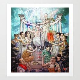 L'apothéose d'Emmanuel Art Print