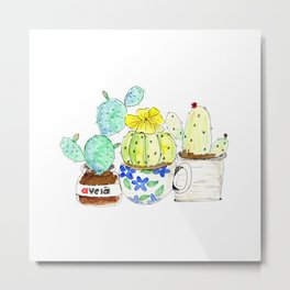 It is all about Cactus Metal Print