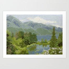 Found Tapestry Art Print