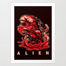 ALIEN: KANE'S SON Art Print