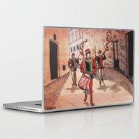 drum Laptop & iPad Skins featuring Drum by Sarah Larguier