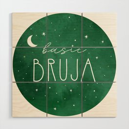 Basic Bruja Wood Wall Art