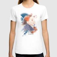 jennifer lawrence T-shirts featuring Jennifer Lawrence (Deco Art) by Rene Alberto