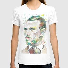 JESSE JAMES watercolor portrait T-shirt