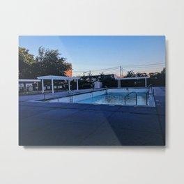 the bronx/open swim Metal Print