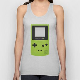 Game Boy Color - Green Unisex Tank Top