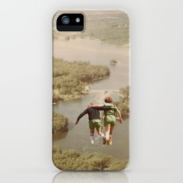 on the lake & by the sea iPhone Case