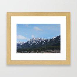 Good morning, Canmore! Framed Art Print