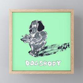 Dogsbody Framed Mini Art Print