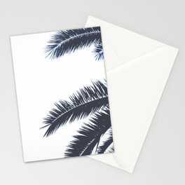 Palm Tree leaves abstract III Stationery Cards