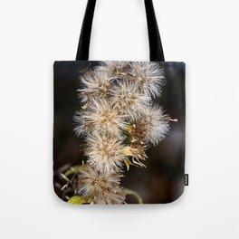 MacroFlower Tote Bag