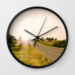 May He Rest In Peace Wall Clock