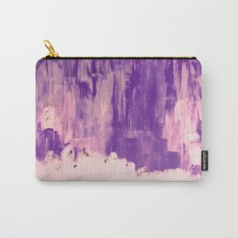 Snow Dreams in Autumn, Solar Flares Series Carry-All Pouch
