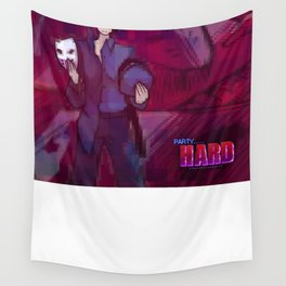 Party Hard - Two sides Wall Tapestry