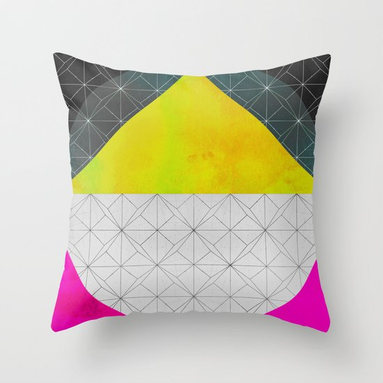 Quadrant Throw Pillow