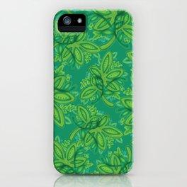 Hojas iPhone Case
