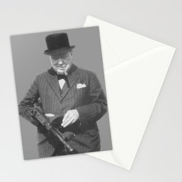 Sir Winston Churchill Stationery Cards