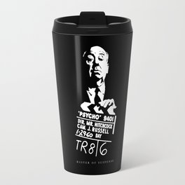 Alfred Hitchcock Master of Suspense Movie Psycho Travel Mug