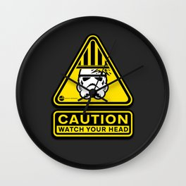 Empire Safety Program - Star Wars Wall Clock