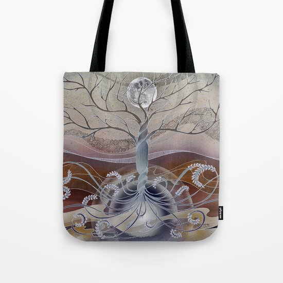 winter in the garden of eden Tote Bag