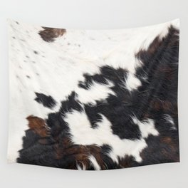 Brown Cowhide Wall Tapestry