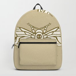Bee Illustration Backpack