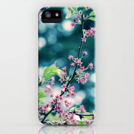 Just for a Moment iPhone Case