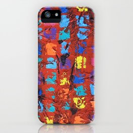 Abstract - The Truth in the Ashes iPhone Case