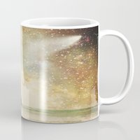 interstellar Mugs featuring Interstellar by Jenndalyn