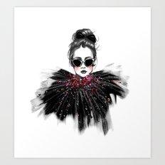Lua // Fashion Illustration Art Print