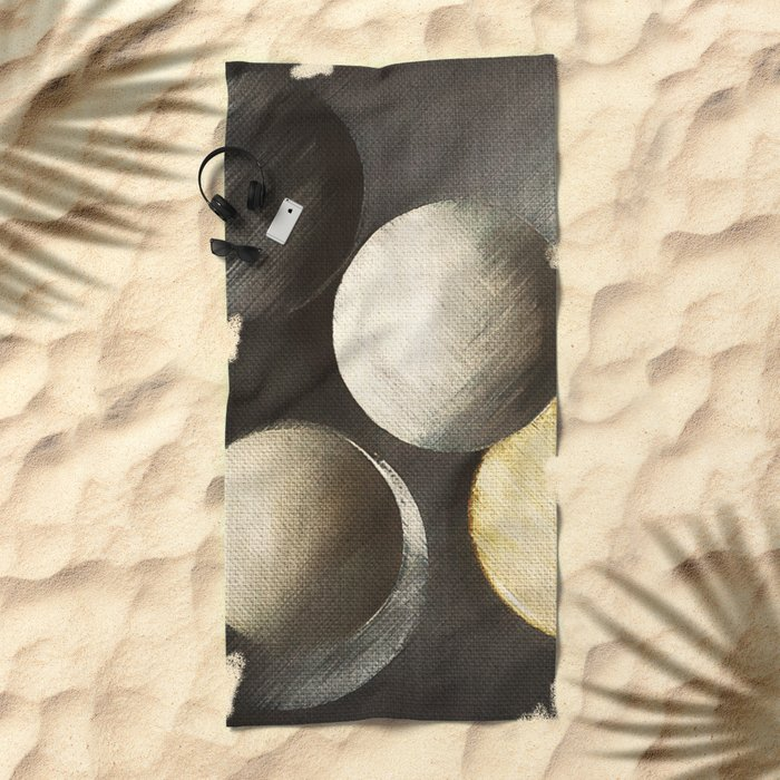Five Moons Beach Towel