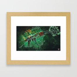 Machine Gun 3 Framed Art Print