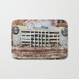 Chevy Truck Grill, Truck, Chevrolet, Old Chevy Bath Mat